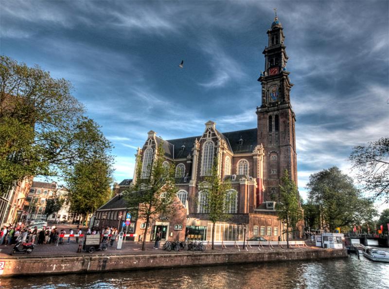 iglesia-Westerkerk-amsterdam