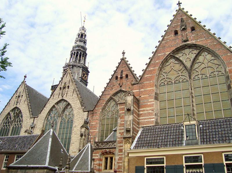 Iglesia vieja de Amsterdam