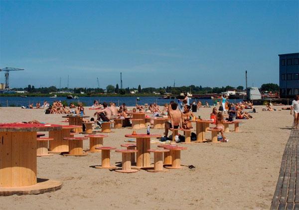 Strand - Playa en Amsterdam