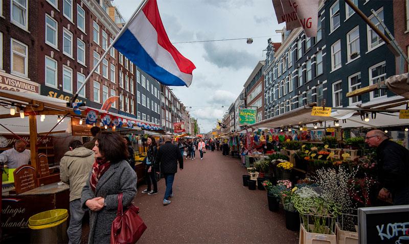 Mercado De Albert Cuyp La Gu 237 A De Amsterdam