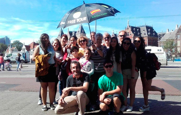 Tours gratuitos en Amsterdam